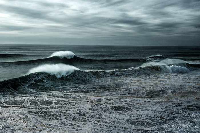 Big waves in Portugal - Nazare
